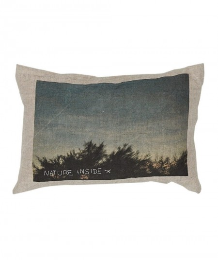 Coussin rectangle Nature...