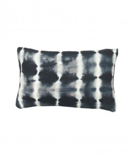 Coussin tie and dye Tchaï -...